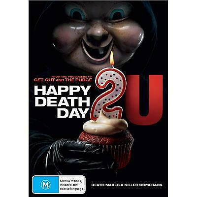 Happy Death Day 2U Dvd, 2019 Release, New & Sealed, Free Post