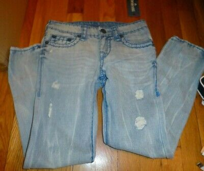 b24cb73be True Religion Boys Light Denim Jean Size 10 Contract Super T Geno True  Religion