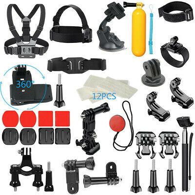 Kit Outdoor Sports Camera Set For GoPro Accessories Hero7/6/5/4/3 48-in-1 Bundle