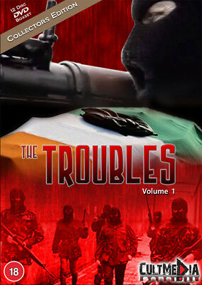 The Troubles Vol 1 - 12 DVD Boxset - Collectors Edition - Ireland Irish History