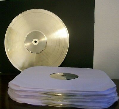 Platinum Plated LP Record Album BLEMISHED Award Trophy Blank Custom RIAA Style