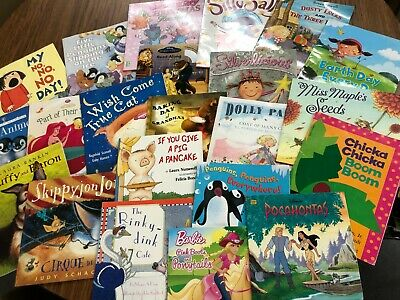 Lot of 20 Story Time kids books toddlers girl princess fairy Disney animal
