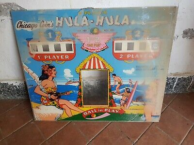 Arcade Testata Marquee Vintage : Hula - Hula - Chicago Coin's