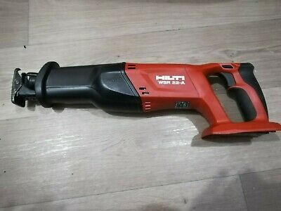 Hilti Cordless Reciprocating Saw WSR 22-A. recip saw