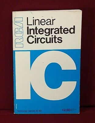 1970 RCA linear Integrated Circuits IC-42
