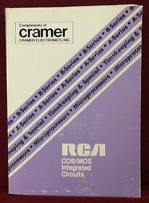 1977 RCA COS/MOS Integrated Circuits Book SSD-250
