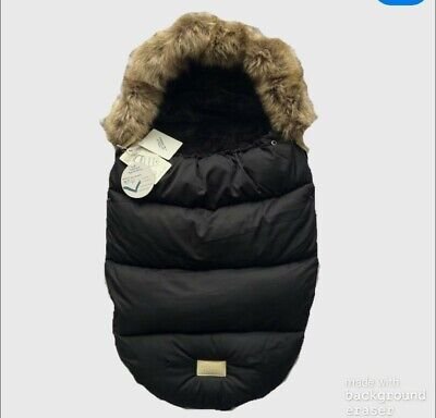 Universal Boss Bibbe - black footmuff Cosytoe Various colours and change bags