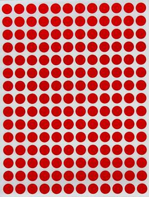 Color Coded Round Dot Stickers Marking Labels for Organizing Scrapbooking Arts