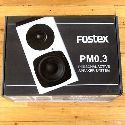 Audio For Video Imported From Abroad Pair Of Fostex Pm0.4 Active Monitor Speakers Excellent Quality Video Production & Editing