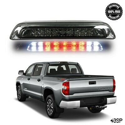 Smoked Lens Rear Roof 3rd Brake Cargo LED Tail Light Bar For 07-17 Toyota Tundra