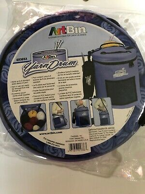 NEW Art Bin Craft Yarn Caddy Carrying Storage Case & Pouch PVC