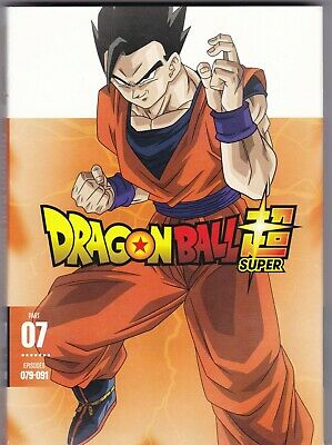 Dragon Ball Super Part 07: Episodes 079-091 (DVD, 2019, 2-Disc Set)