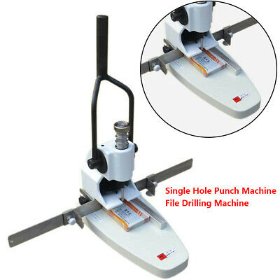 METAL SINGLE HOLE Punching Machine Punch File/Invoice/Manual