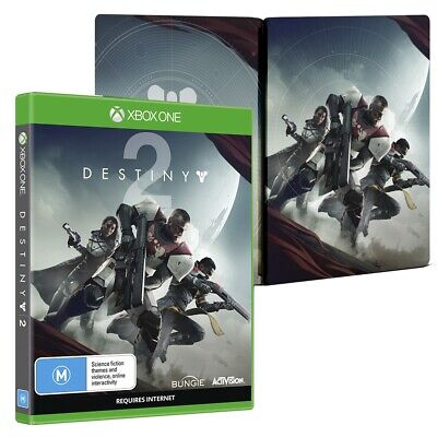 Xbox One🔹 DESTINY 2 Steelbook Edition 🔹 Full Game In Case + Steelbook *SEALED*