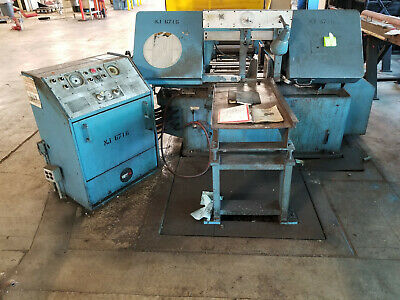 Marvel 15A Horizontal Band Saw w/owner's manuals Series 15 Bandsaw Rockford IL