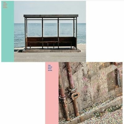 BTS WINGS:YOU NEVER WALK ALONE Album CD+P.Book+Card Sealed+Free Gift