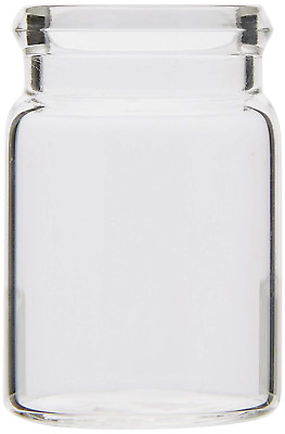 Wheaton 105000 Snap/Clip Top Vial, Glass, 7 mL Pack of 190