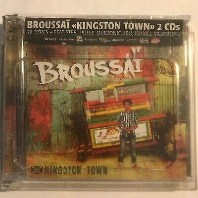 Broussai kingstown town 2 cd neuf sous blister