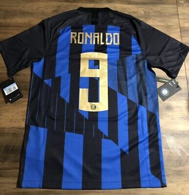 fdd1199ae INTER MILAN HOME Shirt 2018/19, ICARDI NO 9 Available, UK Size S-XL ...