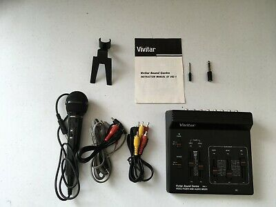 Vivitar VSC-1 video and audio mixer fader  video and sound editing free post