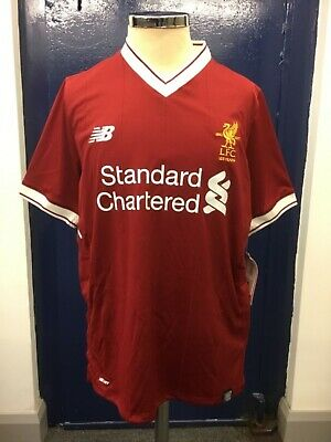 the latest 25d0b 4a3a8 LIVERPOOL FC HOME shirt 2017/2018 kid's children new balance 125 years  anniversa