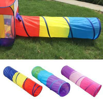 Foldable Kids Indoor Outdoor Pop Up Play Tent Tunnel Castle House Ball Pit Toy