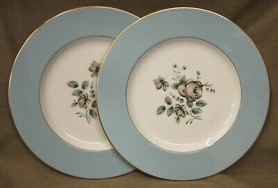 2 NEW & UNUSED Royal Doulton Rose Elegans Dinner Plates TC 1010 - more available