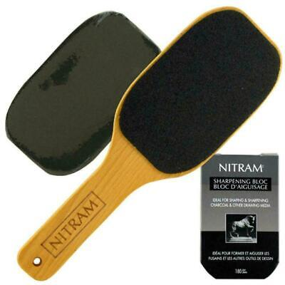 Nitram Charcoal Sharpening Bloc- Abrasive for Charcoal etc.