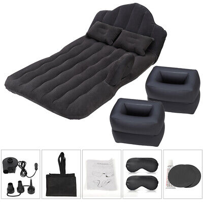 Car Mattress Car Cushion Inflatable Split-type Travel Sleep Rest Mat Bed Beach