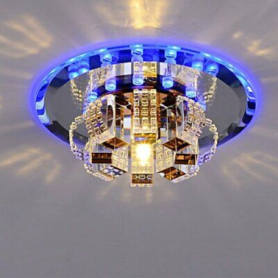 Modern LED Crystal Ceiling Light Pendant Lamp Fixture Chandelier Home Decor BT