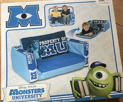 Monsters University Inflatable 2 in 1 Flip Out Sofa & Lounger