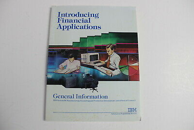 Ibm System/36 Introducing Financial Applications Book Mapics Ii