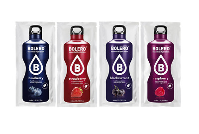 Bolero drink conf da 24 BLUE BERRY-STRAWBERRY-BLACKCURRANT-RASPBERRY prep. istan