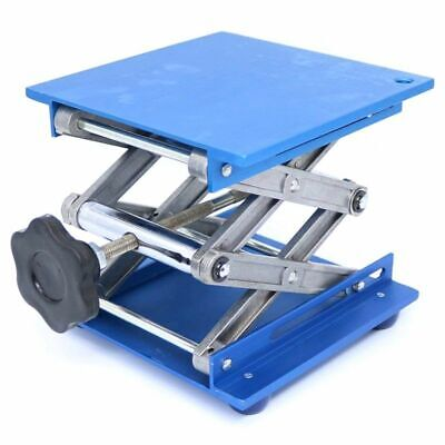 1X(6inch Aluminum Lab-Lift Lifting Platforms Stand Rack Scissor Lab Jack 15H1F1)