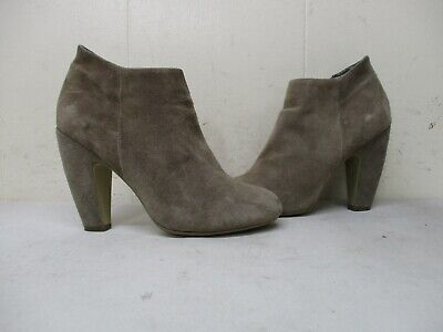 a9d4398623a STEVE MADDEN NAOMI Ankle Bootie Taupe Suede Sz 9.5 - $35.10 | PicClick