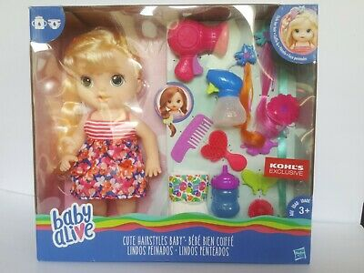 New Baby Alive Cute Hairstyles Baby Doll Playset Gift Set
