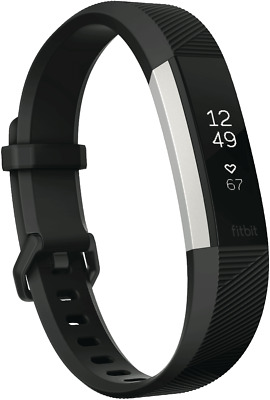 NEW Fitbit 3542538 Alta HR Black Small