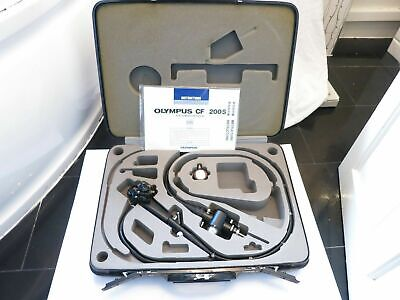 Olympus Cf Type 200S Video Sigmoidoscope Flexible Optic Surgical Endoscope Scope