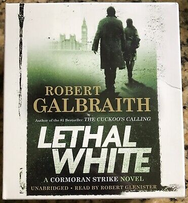 Lethal White by Robert Galbraith: New Audiobook. Cormoran Strike series Rowling