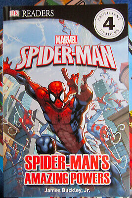 Marvel Spider Man  Spider Man's Amazing Powers DK Level 4 Proficient Readers