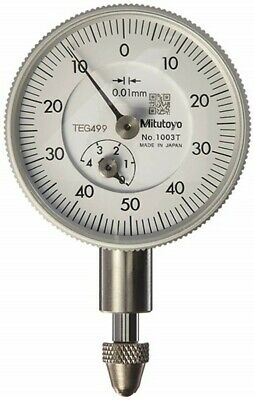 NEW Mitutoyo 1003T Compact Dial Gauge Measurement Range 0~4mm from JAPAN