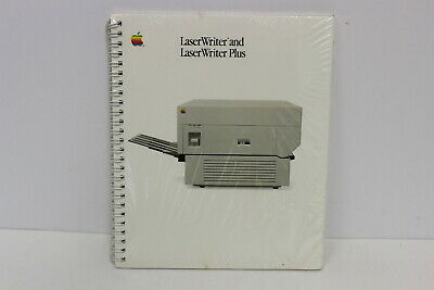 Apple Laserwriter And Laserwriter Plus Manual 030-1296-B New In Shrink Wrap