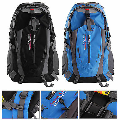 40L Womens Men Camping Hiking Backpack Outdoor Travel Luggage Rucksack Bag Sport