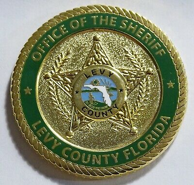 Levy County Sheriff's Department Florida Challenge Coin NEW