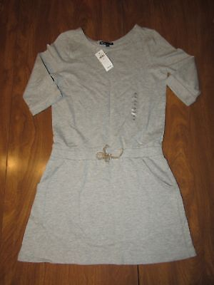 45c68f8bd Gap Kids Girls Large 10 Heather Grey Gray Active Fit Play Dress Ships Free!  NWT