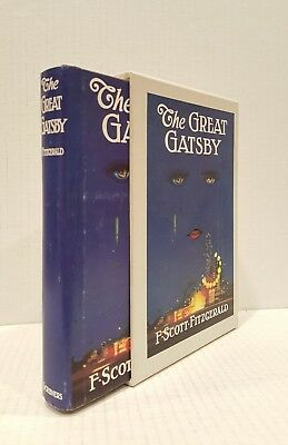 The Great Gatsby F. Scott Fitzgerald 1953 Facsimile Reproduction Case Hardcover