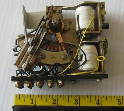 1P10T Stepping Switch Relay - Has Reset Solenoid. 24 Volt DC .16 Amp Pulse Oper