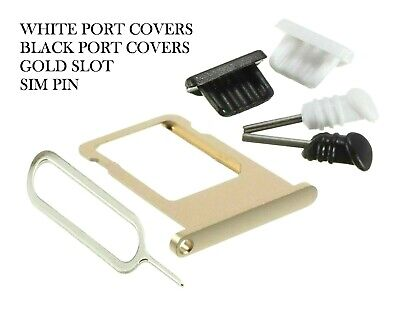 For Apple iPhone 5 5g 5s 5c Se Metal Slot Micro Sim Card Tray Holder Gold