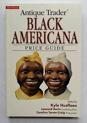Antique Trader Black Americana Price Guide 2nd Edition Book Kyle Husfloen