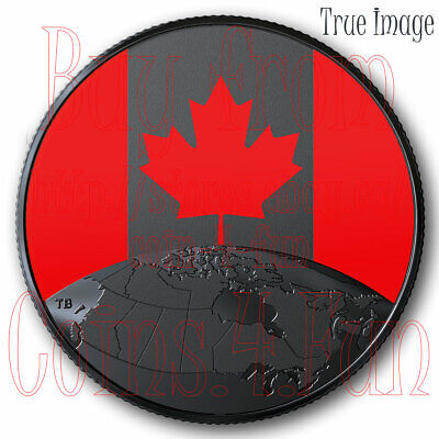 2019 - This is Canada! - $5 Pure Silver Glow-in-the-Dark Coin - Canada